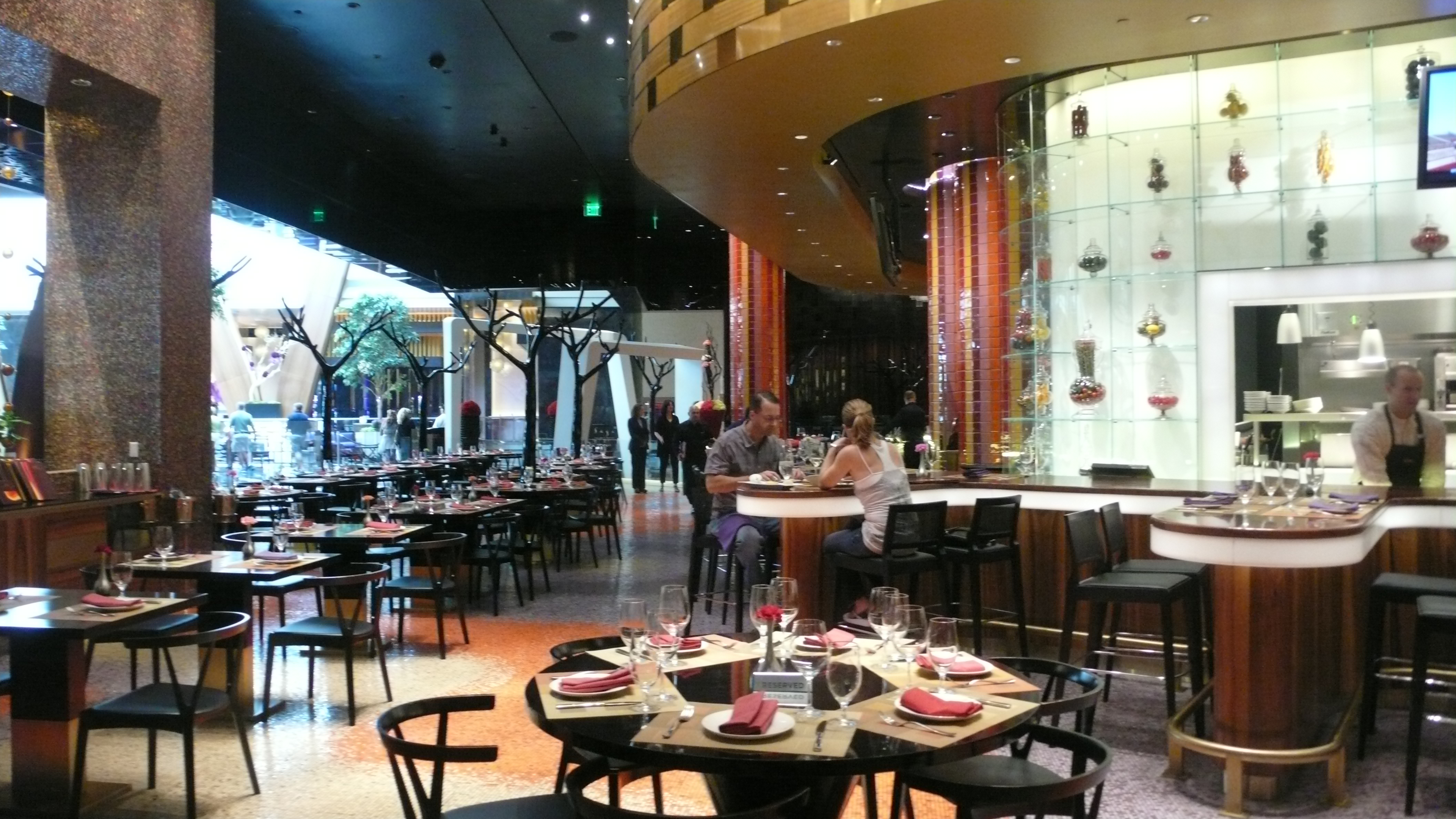 The Divine Dish » Dinner at Julian Serrano las Vegas