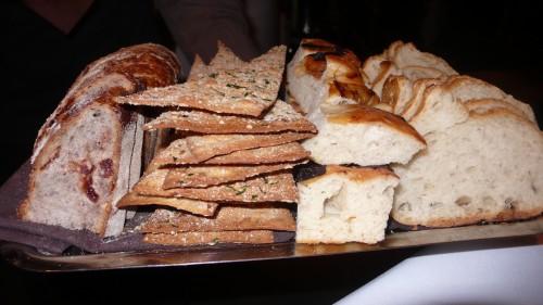Spago bread