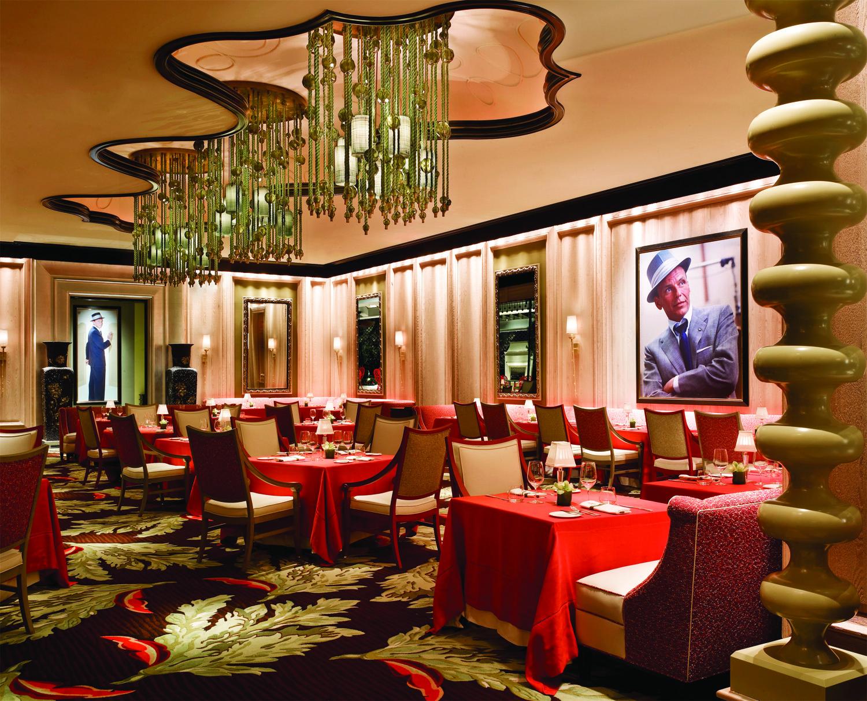 Big Italian Restaurants Near Me: The Divine Dish » Dinner At Sinatra Restaurant, Encore Las