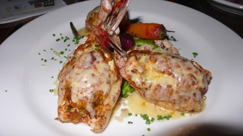 crab stuffed jumbo shrimp