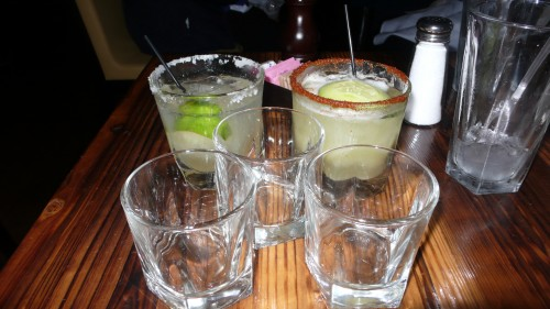 So much tequila!!