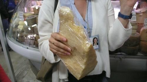 A kilo of cheese!