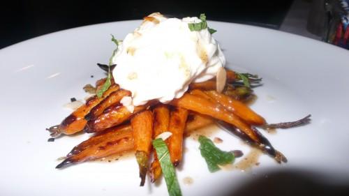Charred carrots