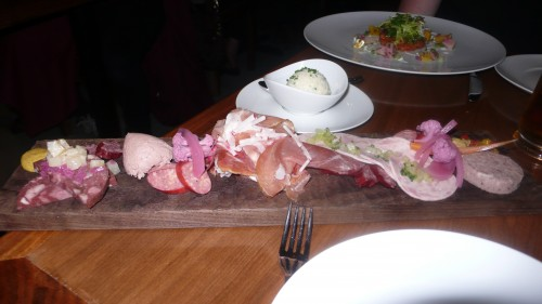our charcuterie plate