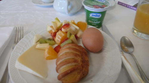 A lovely breakfast