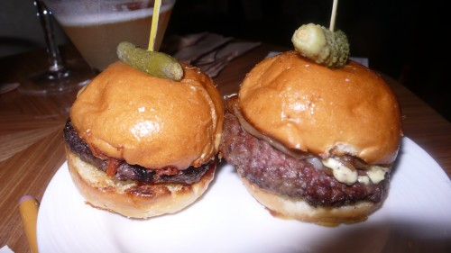 my plate of mini sliders