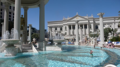 Caesars Pool Area