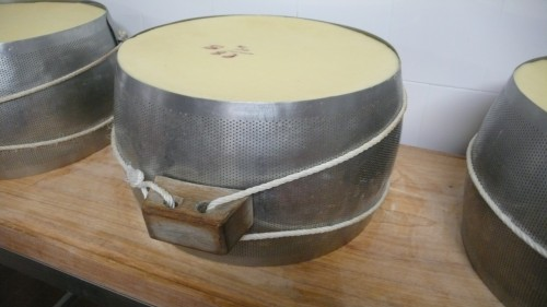 Cheese in mold