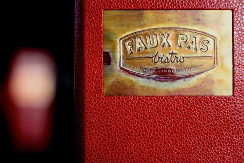 Faux Pas restaurant