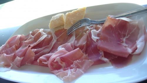 Finished Parma ham