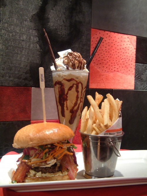 burger shake combo