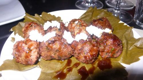 Syrain lamb meatballs
