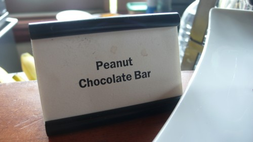 peanut butter choc sign