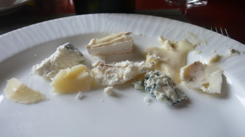 my sample cheese tasting