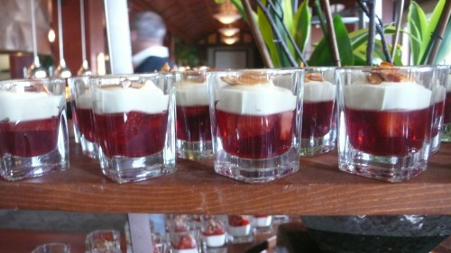 strawberry almond shot