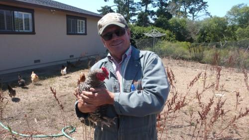 Farmer John at his farm