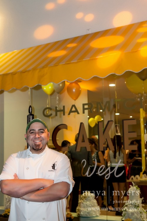 Chef Duff Goldman at Charm Cake West/Cakemix