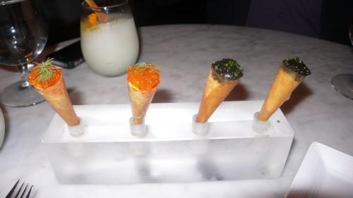 caviar cones