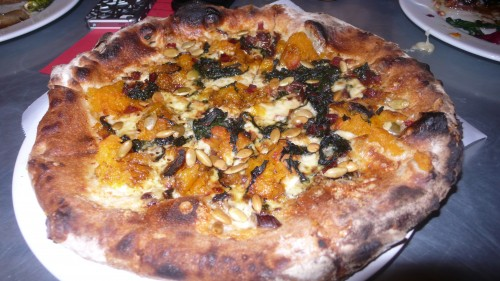 roast pumpkin pizza