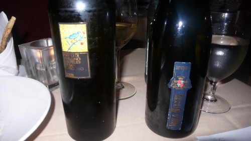 first two wines