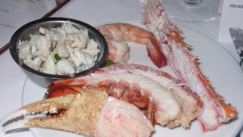 my seafood plate