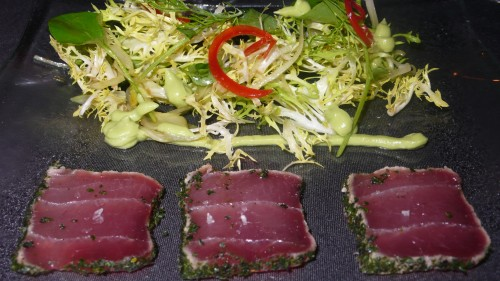 Tuna Appetizer, Anzu