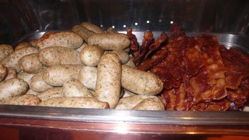 sausage and bacon