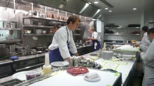 Bouchon kitchen