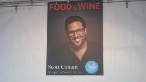 Scott Connant booth
