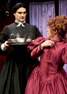 ane Twisden' (Matthew Floyd Miller) and 'Lady Enid' (Jamie Torcellini). Photo by Chelsea Sutton.