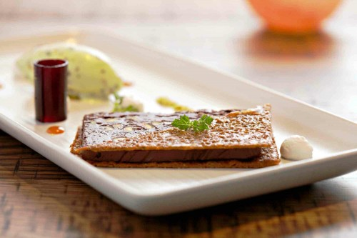dark chocolate pate