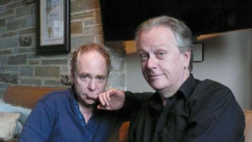 Magicians Teller and Todd Robbins