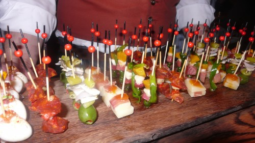 Pintxos at Coqueta