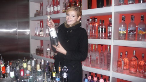 Our Vodka Ambassador at Nic's VODBOX