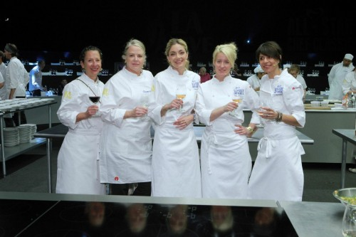 Lady chefs