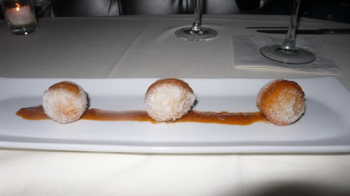 lobster beignets
